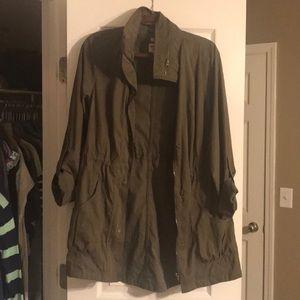 Mossimo hunter green jacket